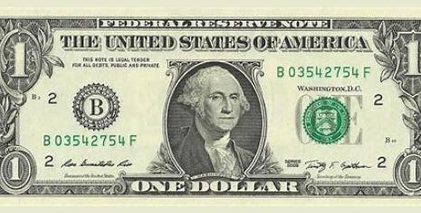 Il dollaro statunitense 1
